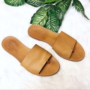 Madewell slide sandals size 9 1/2